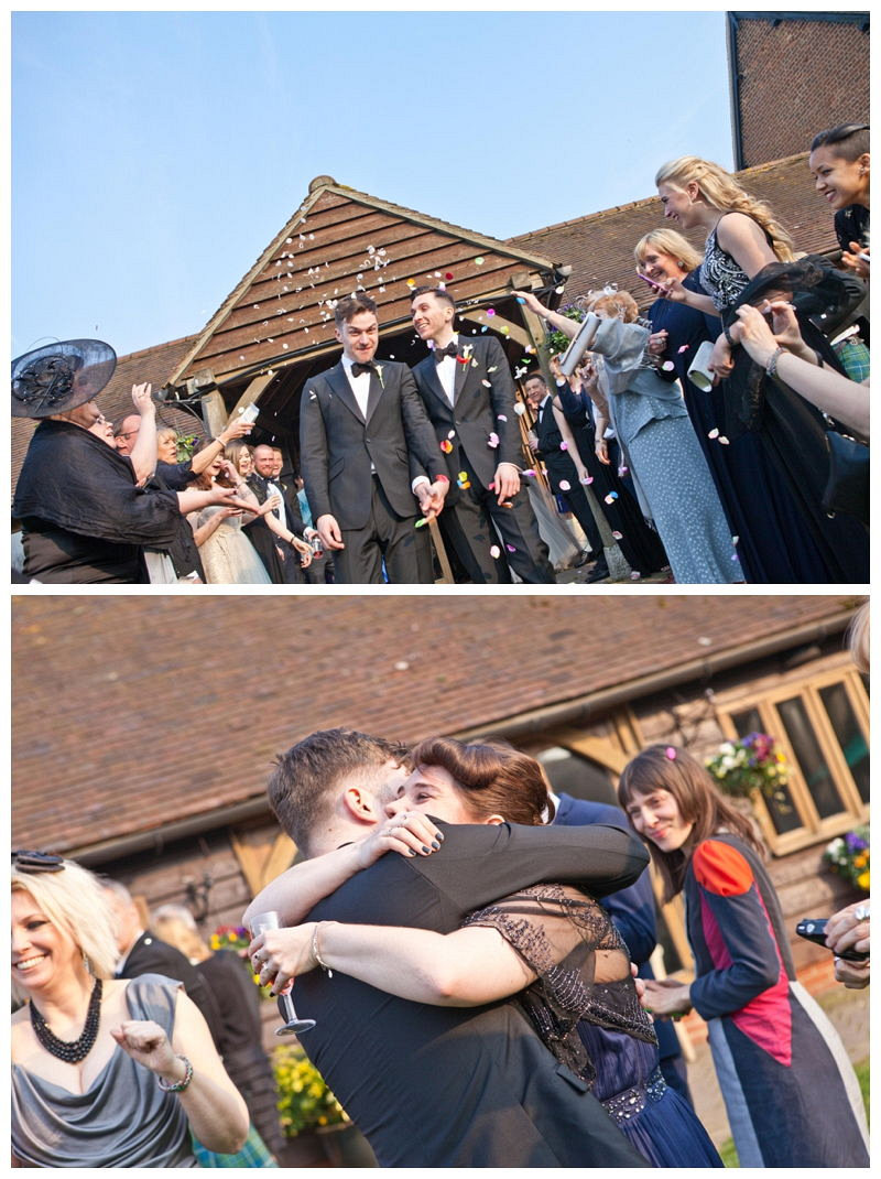 Castle Barn civil partnership Kent_1325